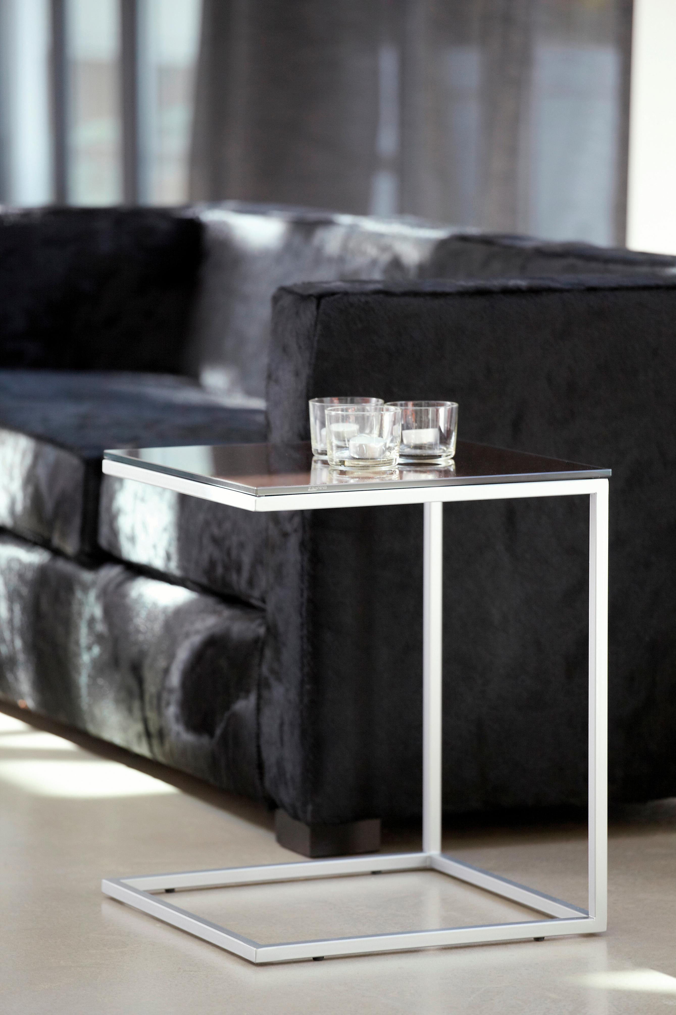 jankurtz Beistelltisch classico, in liegender U-Form braun Beistelltische Tische