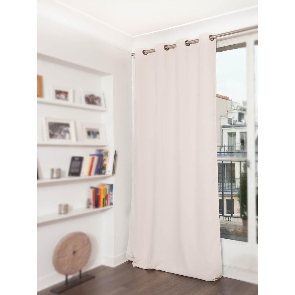 Moondream Vorhang »Accoustic«, HxB: 260x145, Energiespar- und geräuschdämpfender Effekt, Dim Out