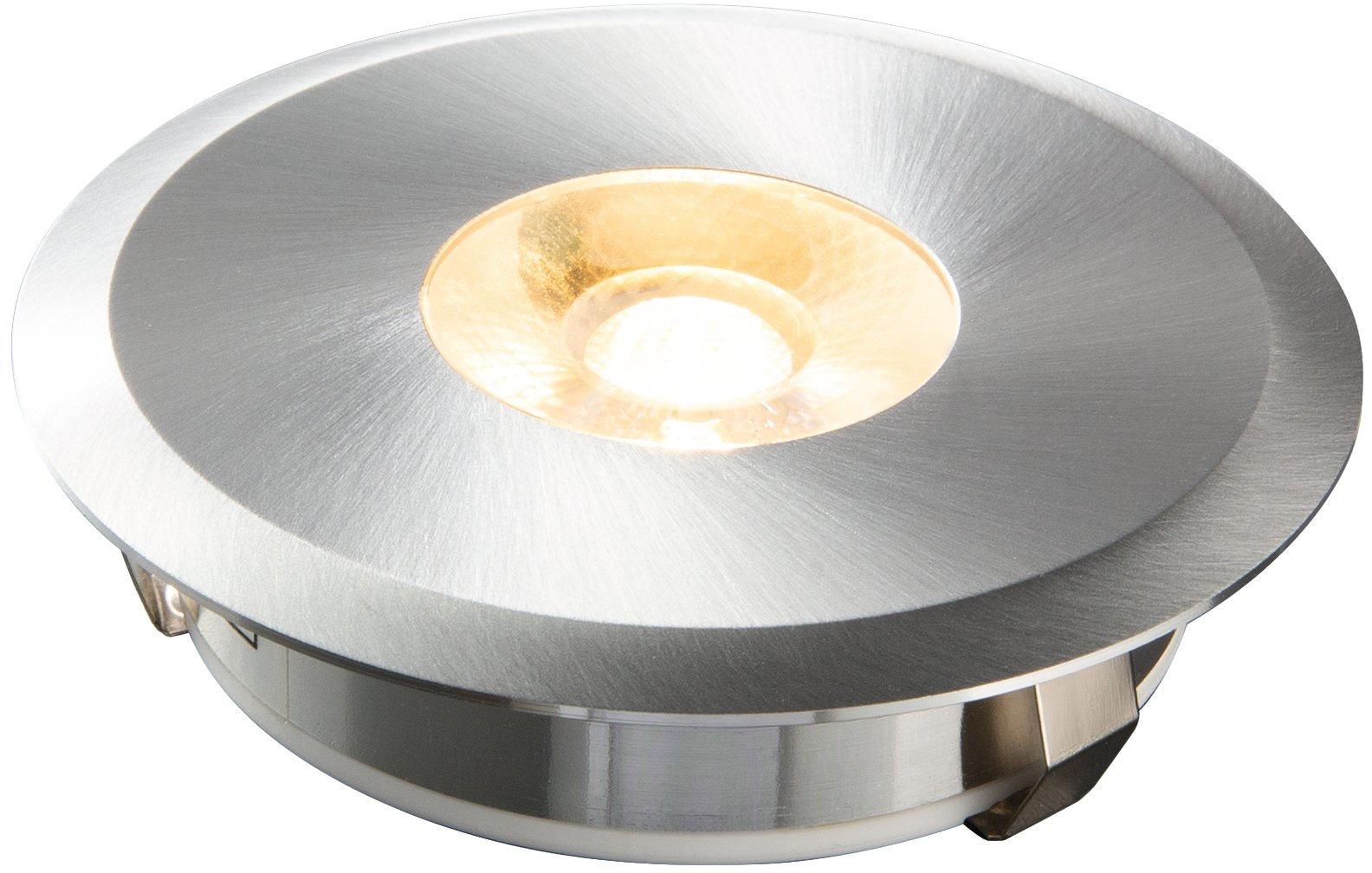 HEITRONIC LED Einbaustrahler Austin, LED-Modul, 1 St., Warmweiß, Gehäuse aus massivem Aluminium (CNC gefräst)