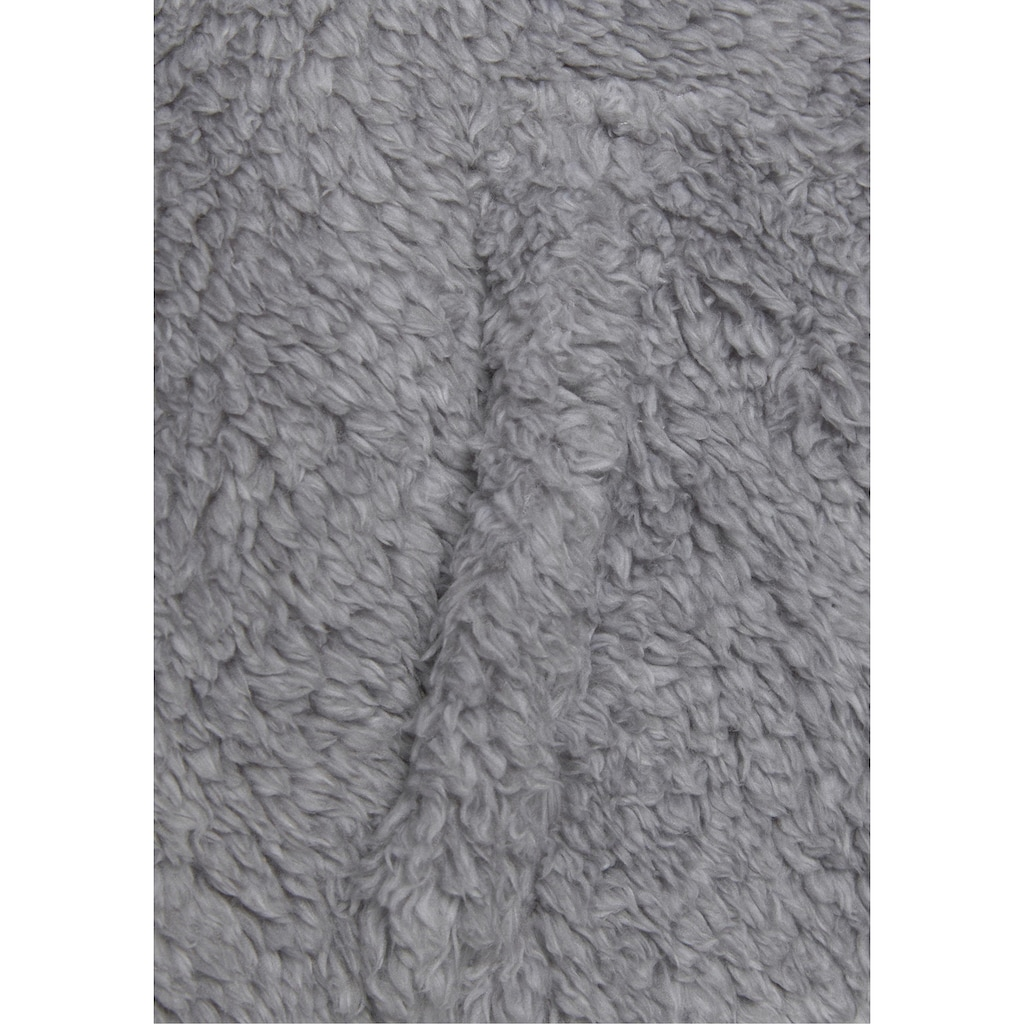 Bench. Kapuzensweatjacke, aus kuscheligem Teddyfleece