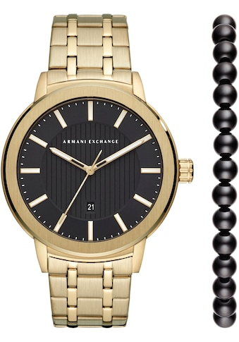 ARMANI EXCHANGE Quarzuhr »AX7108« (Set, 2 tlg.) kaufen