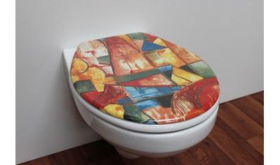 ADOB WC - Sitz »Nizza Art«, sehr stabil, universal passend kaufen