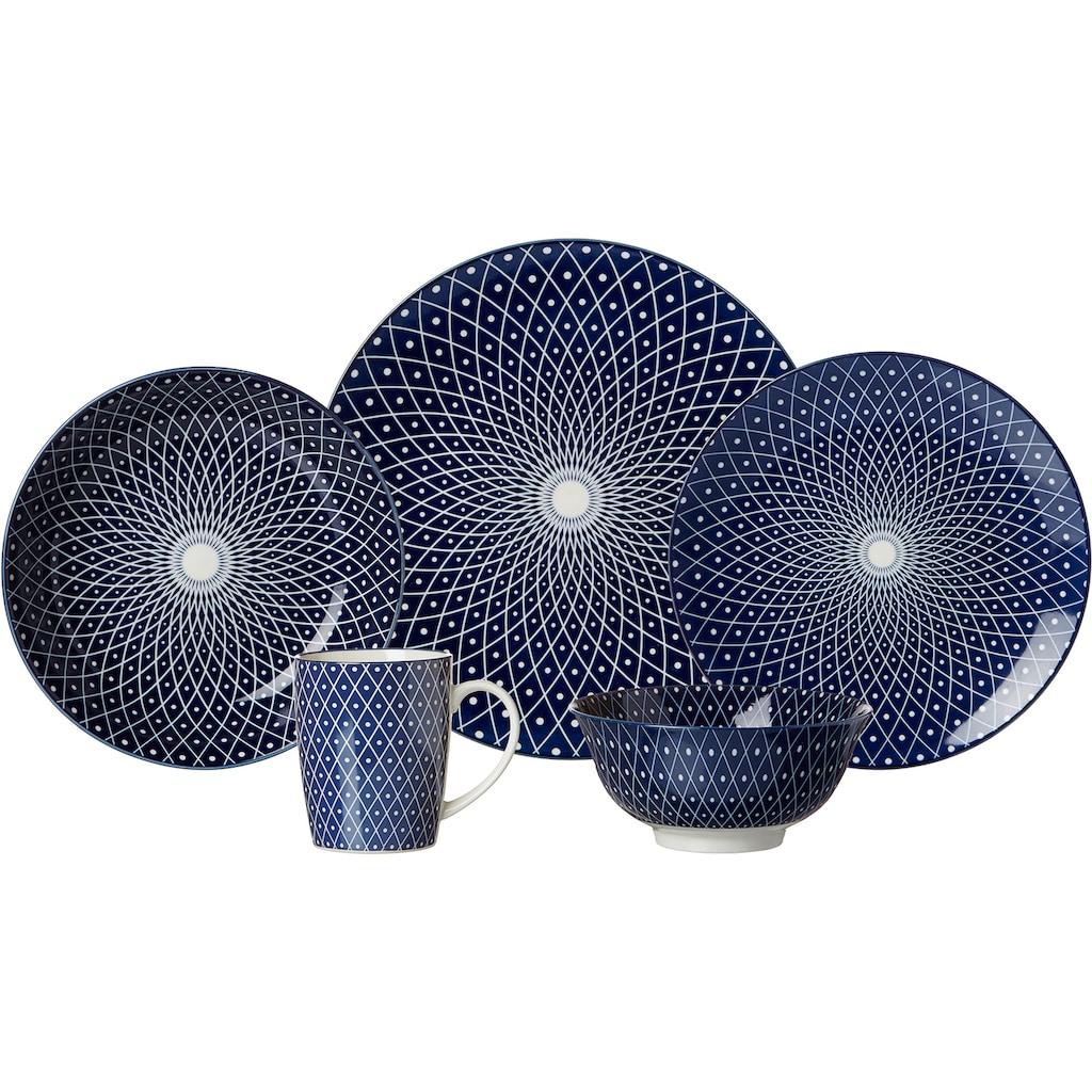 Ritzenhoff & Breker Suppenteller »ROYAL REIKO«, (Set, 4 St.), Keramik