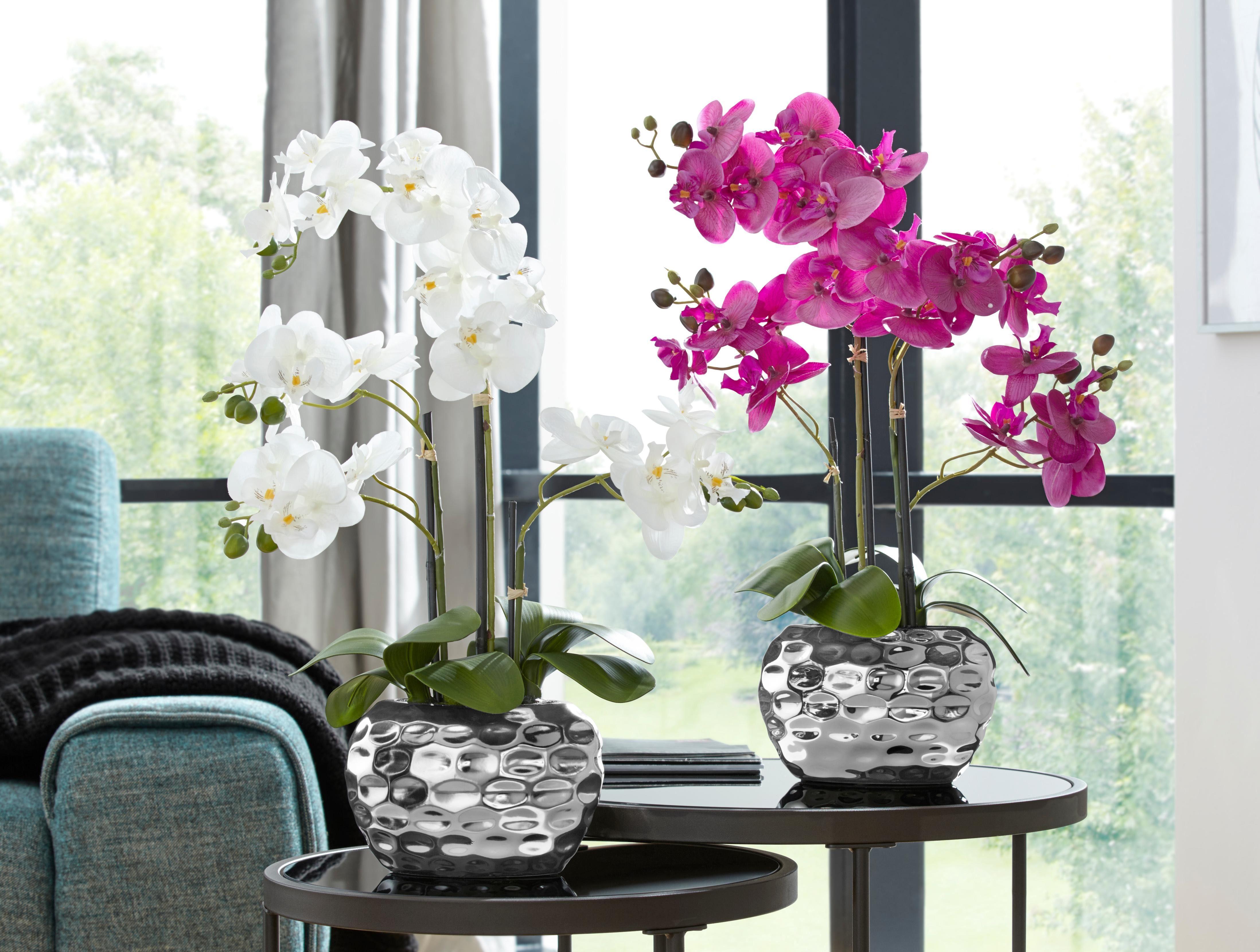 Kunstpflanze Orchidee Wohnen/Accessoires & Leuchten/Wohnaccessoires/Kunstpflanzen/Kunstorchideen