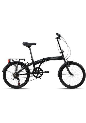 KS Cycling Faltrad »Cityfold«, 6 Gang, Shimano, Tourney Schaltwerk, Kettenschaltung kaufen