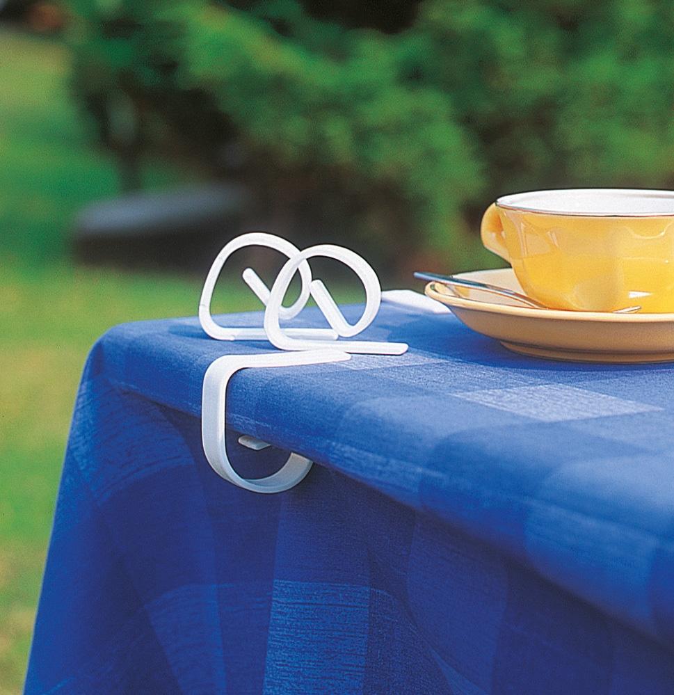 Ruco Tischklammer, Kunststoff weiß RUCO Haushaltshelfer Tischklammer