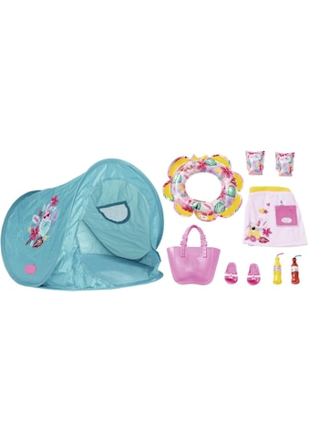 "Baby Born Puppen Zelt ""Holiday Strand Set"" kaufen"
