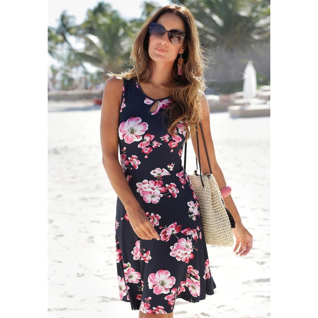Beachtime Sommerkleid, mit Blumenprint