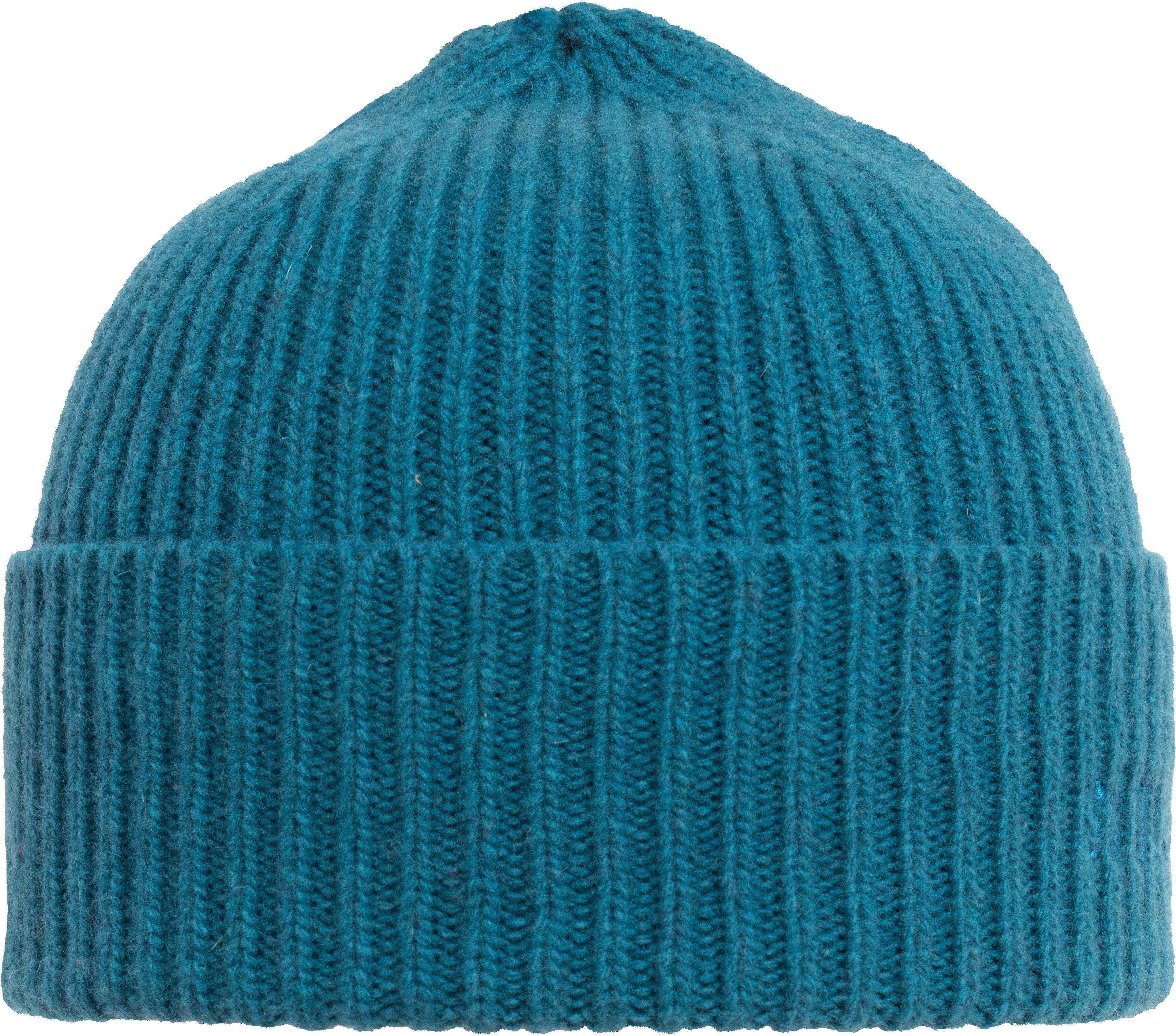 Sätila of Sweden Strickmütze mit dezentem Label   Accessoires > Mützen > Strickmützen   Blau   Polyamid   Sätila Of Sweden