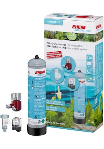EHEIM Aquariumpflege »SET200«, CO²-Düngeanlage mit 500g Flasche, Einweg kaufen