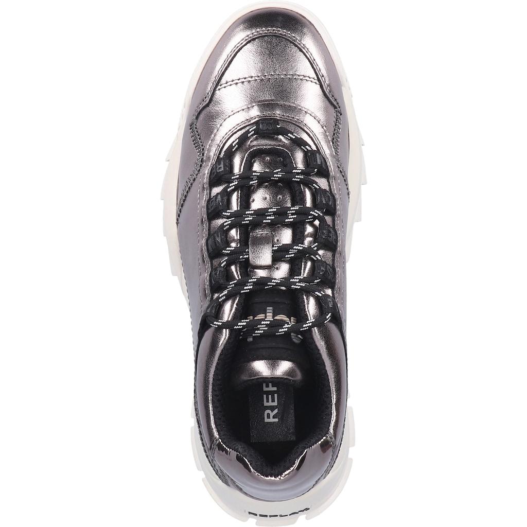 Replay Sneaker »Lederimitat«