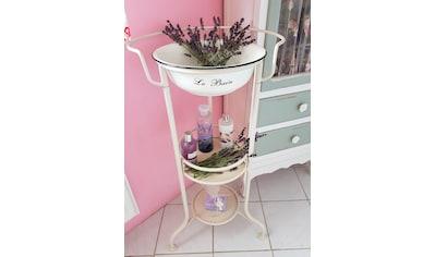 Ambiente Haus Beistelltisch »Waschschüssel mit Stand« kaufen