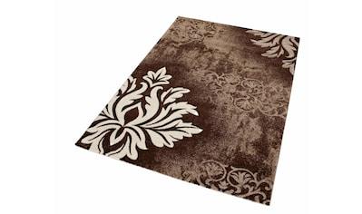 Teppich, »DORDOGNE«, merinos, rechteckig, Höhe 13 mm, maschinell gewebt kaufen