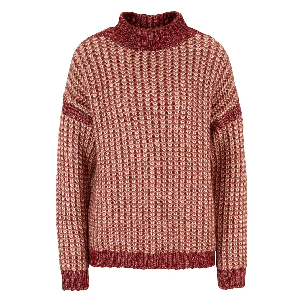 LINEA TESINI by Heine Stehkragenpullover »Pullover«