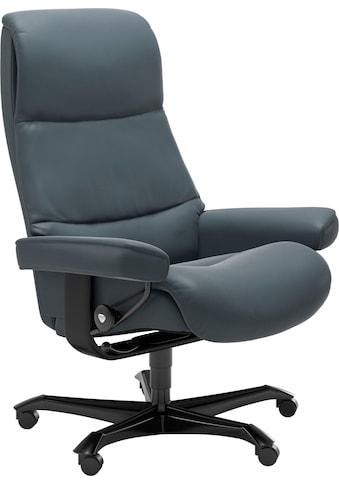 Stressless® Relaxsessel »View«, mit Home Office Base, Größe M,Gestell Schwarz kaufen