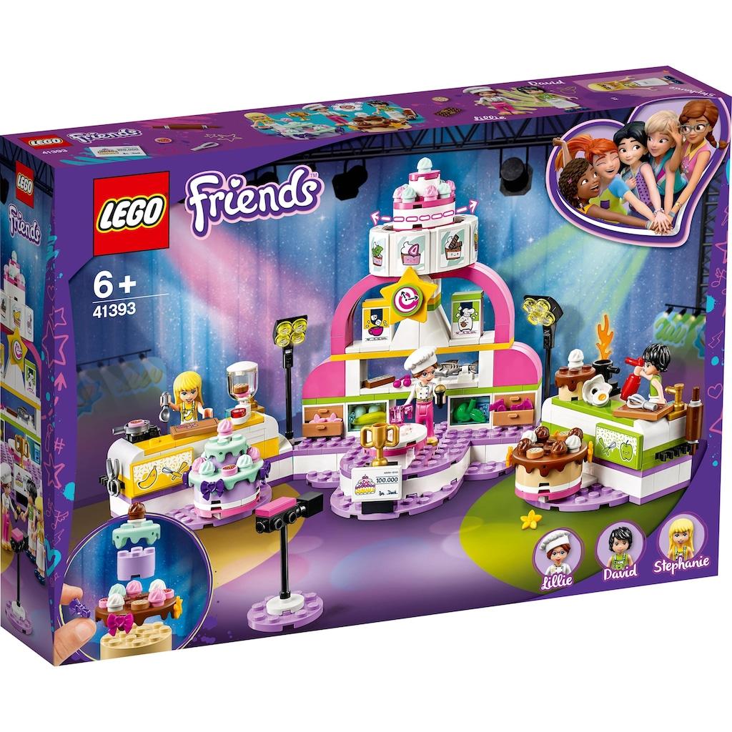 LEGO® Konstruktionsspielsteine »Die große Backshow (41393), LEGO® Friends«, (361 St.)
