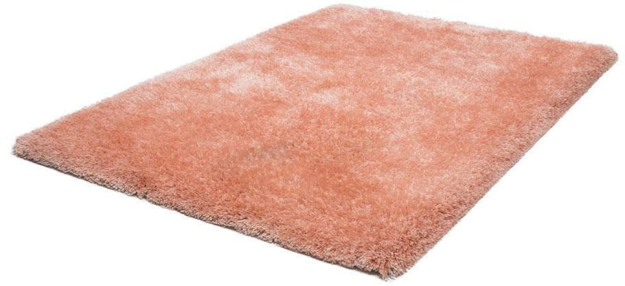 Hochflor-Teppich Monaco LALEE rechteckig Höhe 45 mm handgewebt