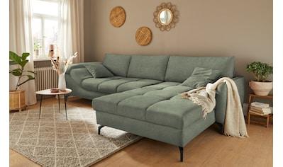 Mr. Couch Ecksofa »Sonya«, 5 Jahre Hersteller-Garantie auf Schaumpolsterung,... kaufen