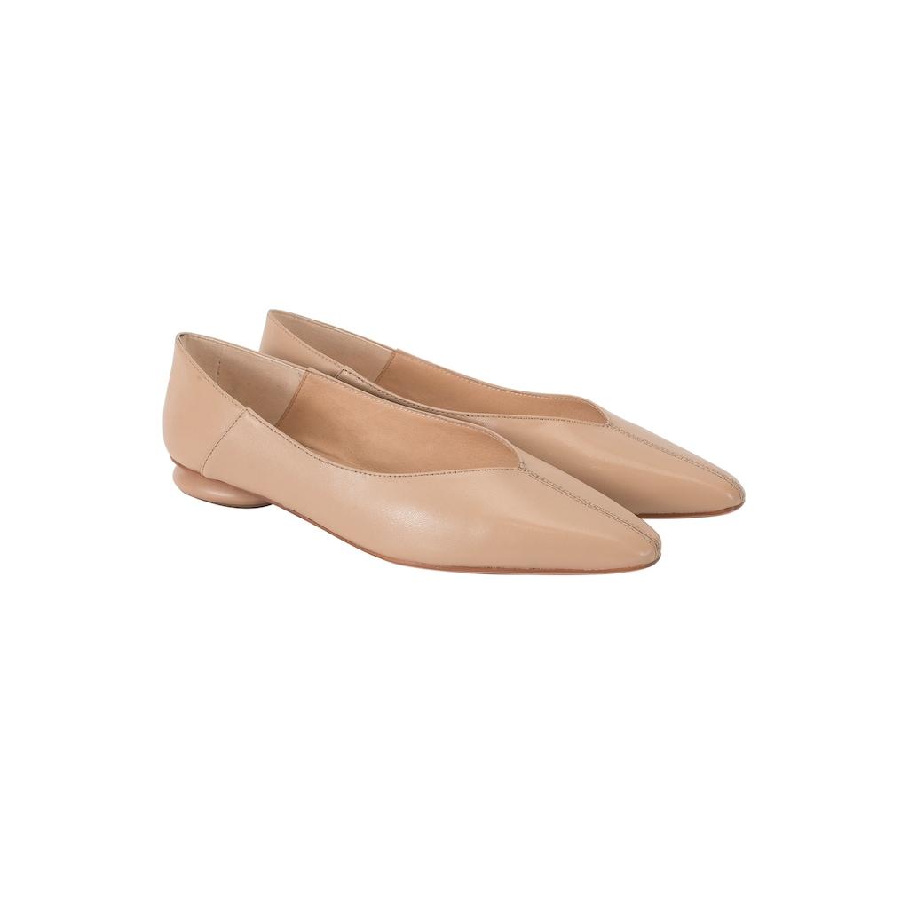 ekonika Ballerina, hergestellt aus glattem Leder