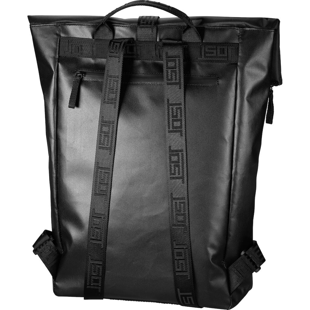 Jost Freizeitrucksack »Tolja, schwarz«, Made in Europe, enthält recyceltes Material (Global Recycled Standard)