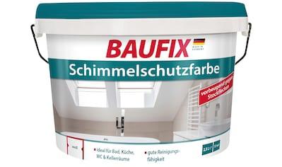 BAUFIX Anti - Schimmelfarbe »Schimmelschutzfarbe«, 2,5 l, Innenbereich kaufen