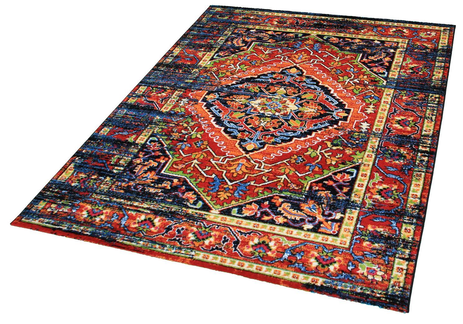 Teppich Vintage 1614 Impression rechteckig Höhe 13 mm
