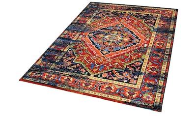 Impression Teppich »Vintage 1614«, rechteckig, 13 mm Höhe, Wohnzimmer kaufen