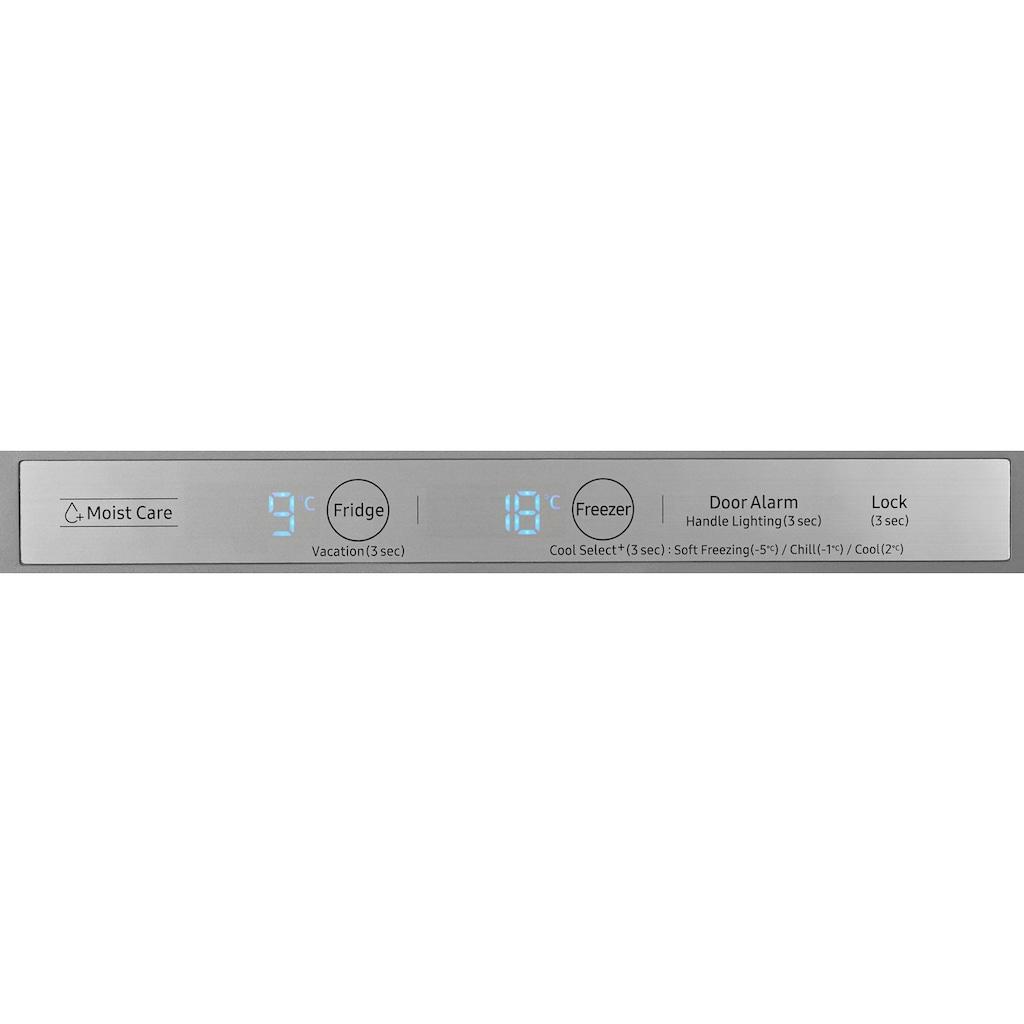 Samsung Kühl-/Gefrierkombination »RL36R8799SR/EG«, RB8000, RL36R8799SR, 202 cm hoch, 59,5 cm breit, No Frost