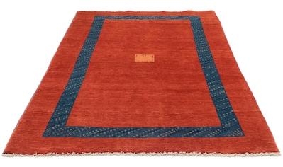 morgenland Wollteppich »Loribaft Teppich handgeknüpft rot«, rechteckig, 18 mm Höhe,... kaufen