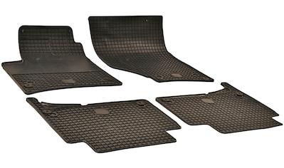 WALSER Passform-Fußmatten, Audi, Q7, Geländewagen, (4 St., 2 Vordermatten, 2... kaufen