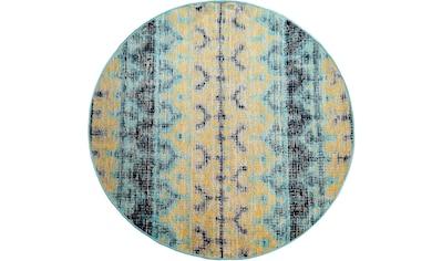 Teppich, »Artigo 417«, Paco Home, rund, Höhe 11 mm, maschinell gewebt kaufen