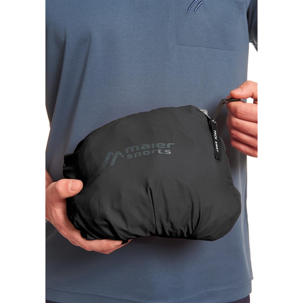 Maier Sports Funktionsjacke »Metor M«, mit Packaway Funktion