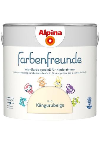 ALPINA Wand -  und Deckenfarbe »Farbenfreunde  -  Kängurubeige (Nr. 01)«, 2,5 l kaufen