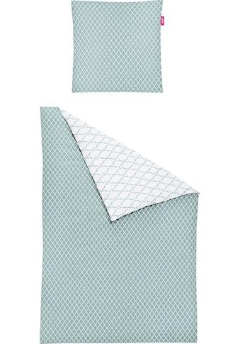 freundin Home Collection Wendebettwäsche »Corado 8991«, mit feinem Muster kaufen
