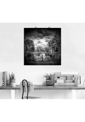 Artland Wandbild »Amsterdam Herengracht III«, Niederlande, (1 St.), in vielen Größen &... kaufen