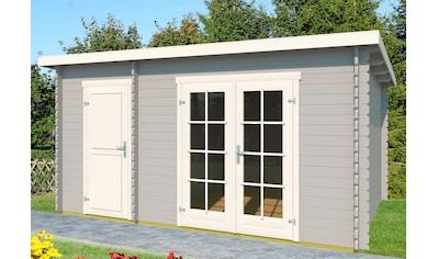 OUTDOOR LIFE PRODUCTS Gartenhaus »Belmont 1«, BxT: 400x270 cm, inkl. Fußboden kaufen