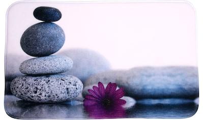 Sanilo Badematte »Energy Stones«, Höhe 15 mm, schnell trocknend, Memory Schaum kaufen