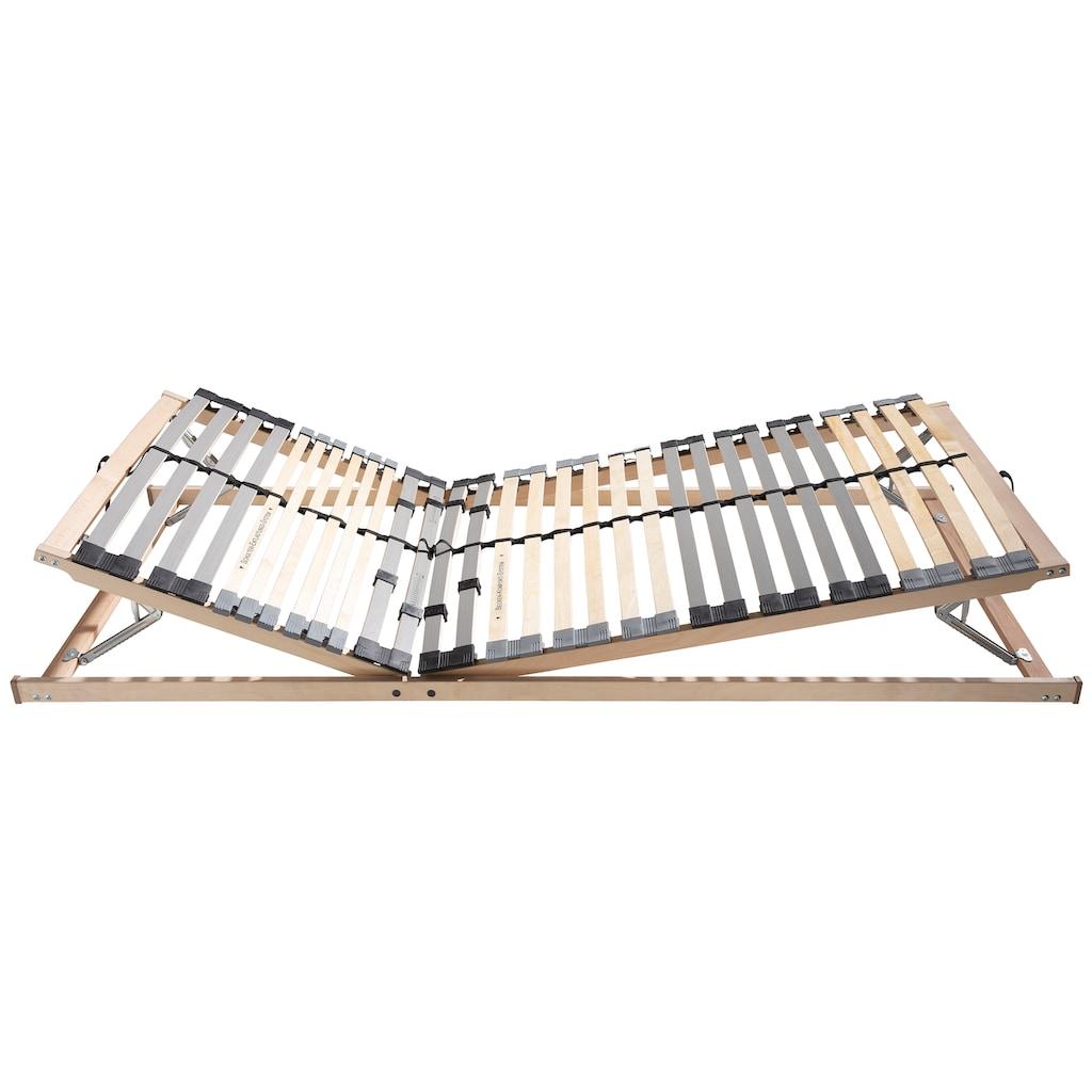 BeCo EXCLUSIV Lattenrost »Optima LR-KF«, 30 Leisten, Kopfteil manuell verstellbar, Kopf- und Fußteil sowie Härte einstellbar