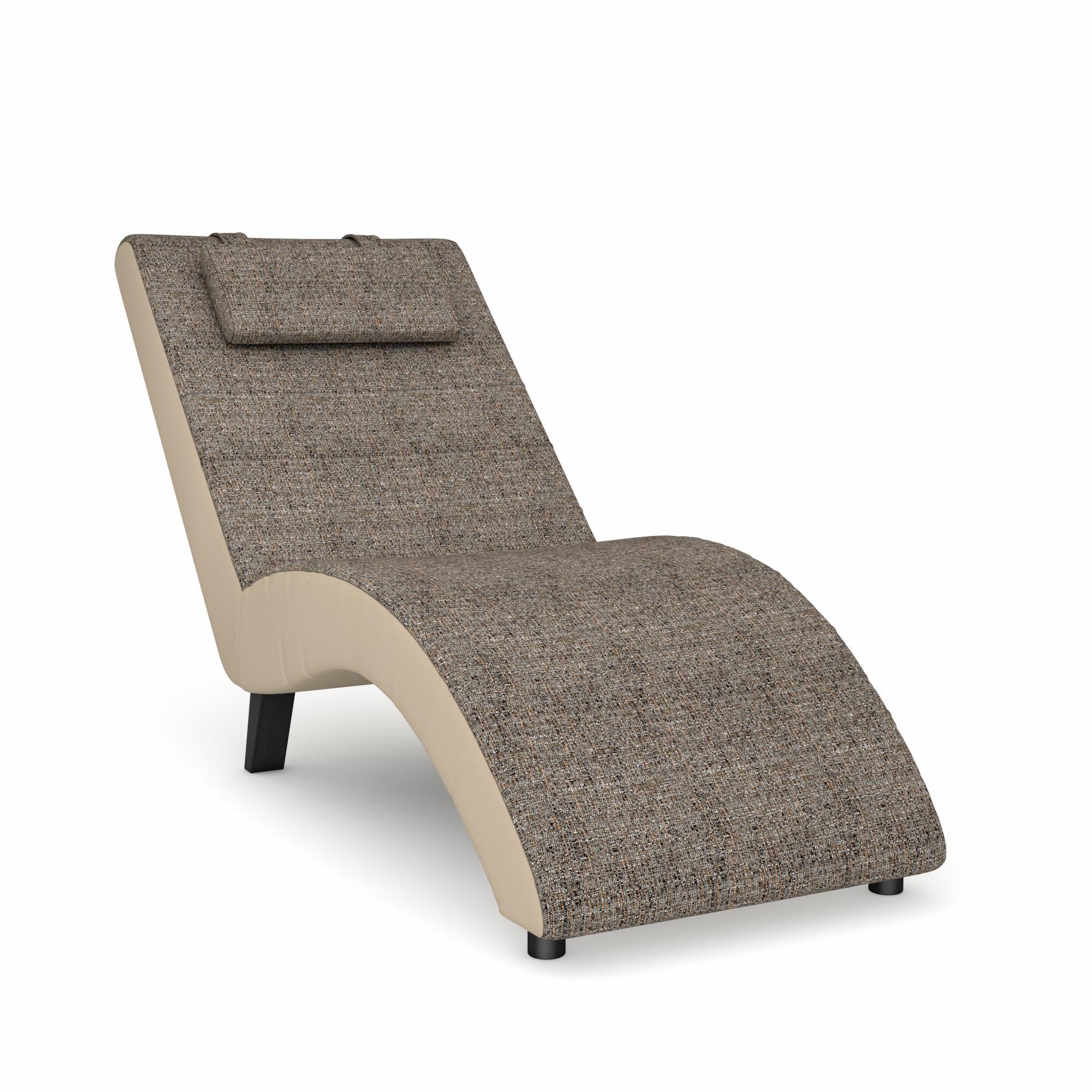 Max Winzer Relaxliege Nova | Wohnzimmer > Sessel > Relaxliegen | Holz - Kunstleder | Max Winzer