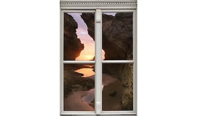 queence Wandsticker »Sonnenuntergang« kaufen