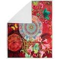 hip Plaid »Novali«, mit Mandala und Blumen