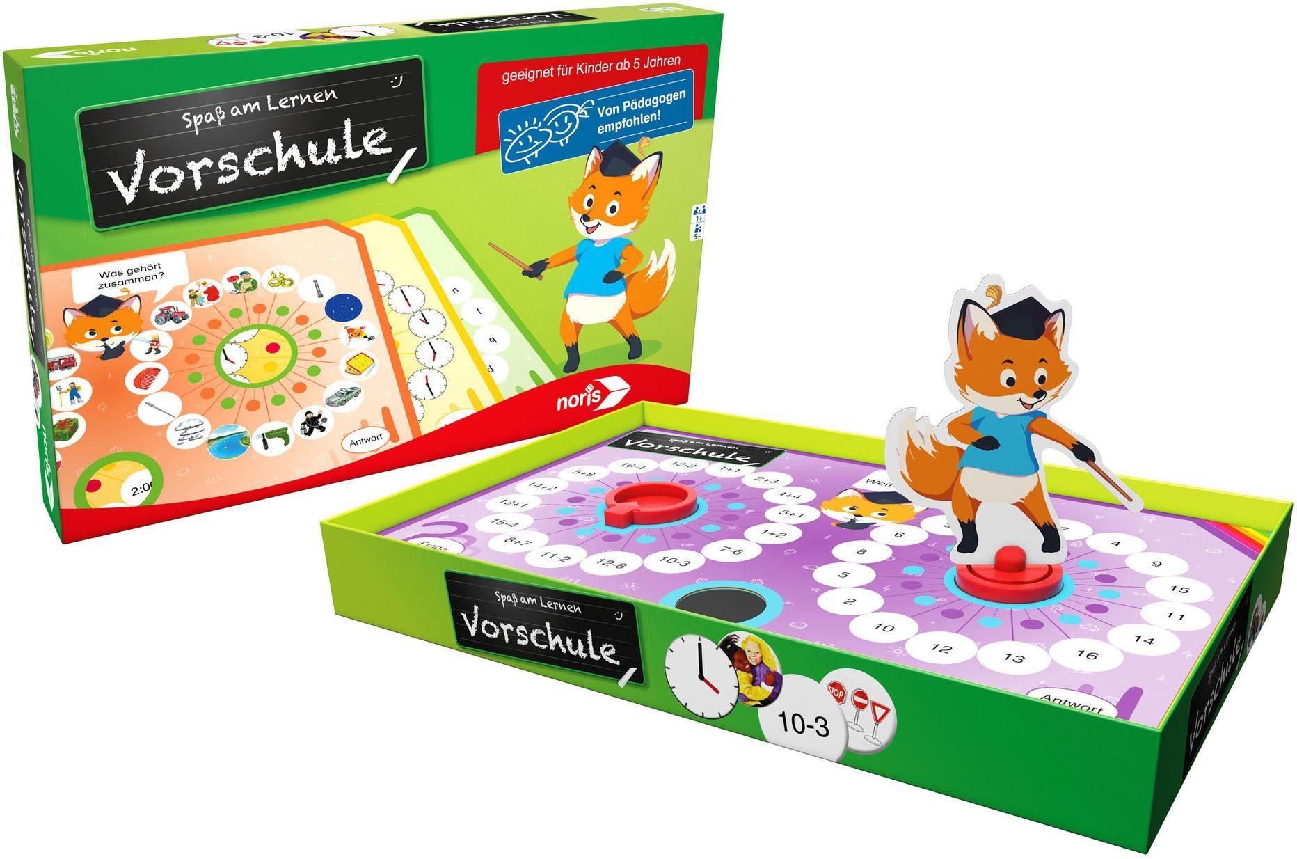 Noris Spiel, Spaß am Lernen - Vorschule bunt Kinder Ab 3-5 Jahren Altersempfehlung Spiele