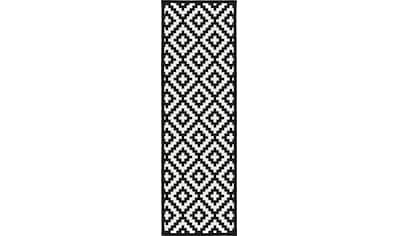 Läufer, »Tomke«, andas, rechteckig, Höhe 7 mm, maschinell gewebt kaufen
