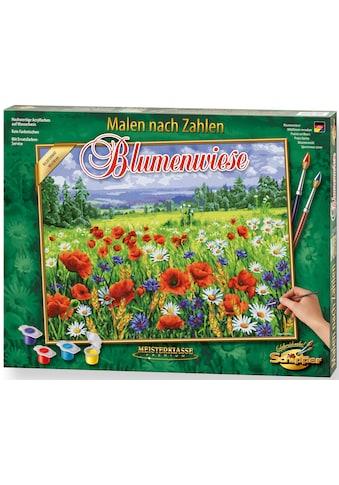 Schipper Malen nach Zahlen »Meisterklasse Premium - Blumenwiese«, Made in Germany kaufen