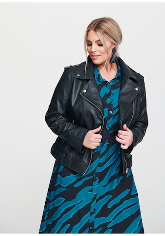 Rock Your Curves by Angelina K. Bikerjacke, aus Lederimitat kaufen