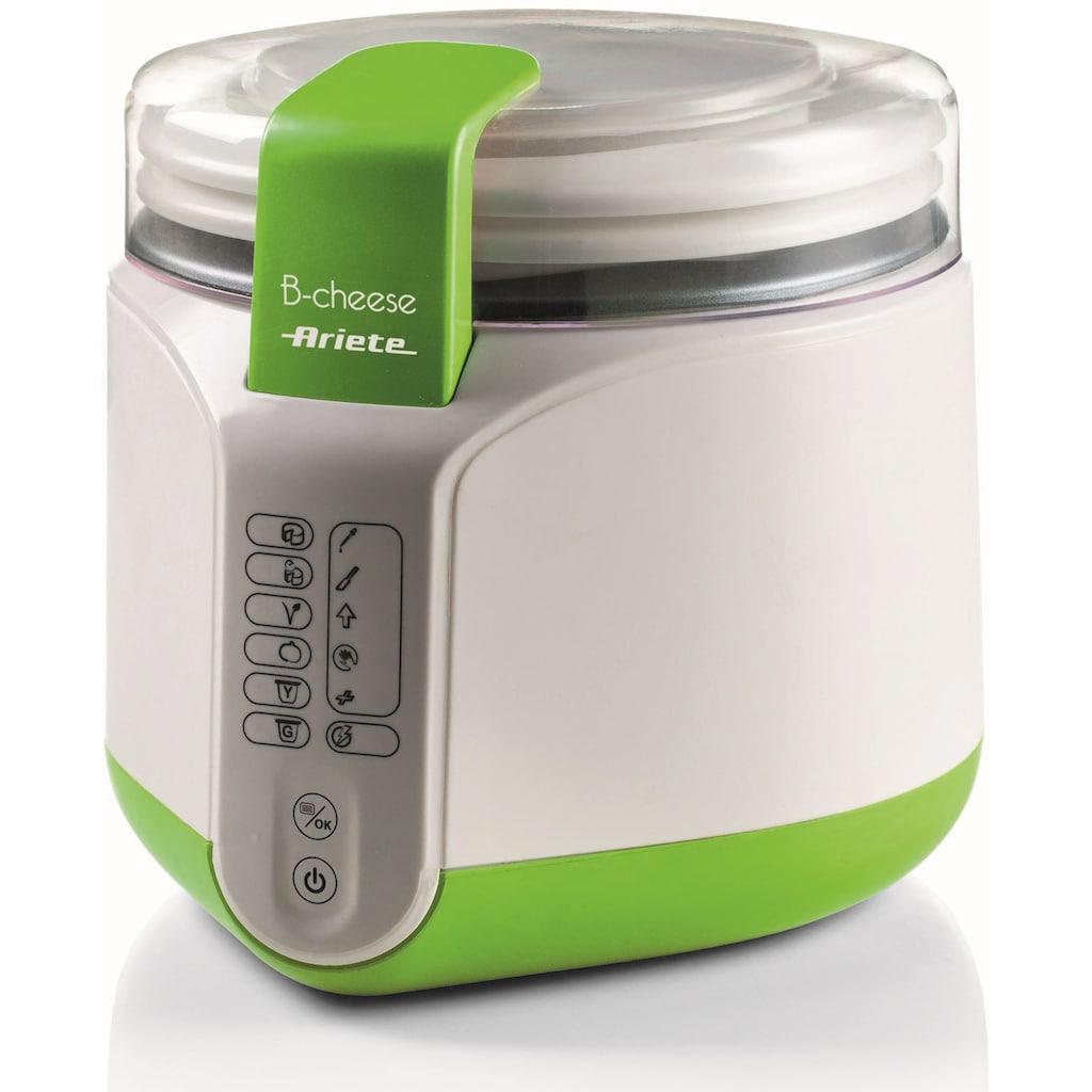 Ariete Joghurtbereiter 615, auch für die Käsezubereitung, 2 Portionsbehälter je 400 ml