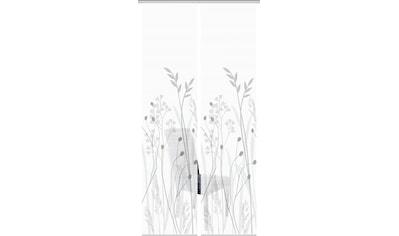 Vision Schiebegardine »GRASIL 2er SET«, Bambus-Optik, Digital bedruckt kaufen