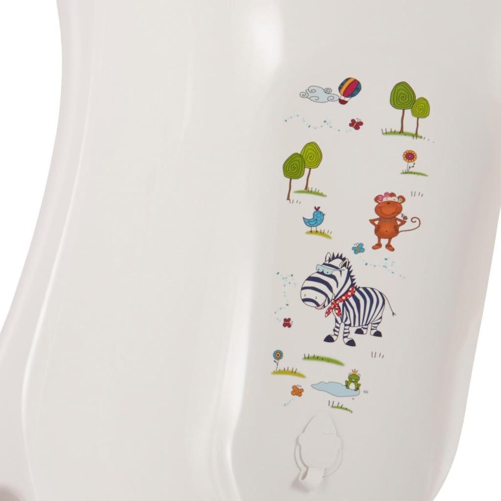 keeeper Babywanne »Maria - Hippo, weiß«, Made in Europe