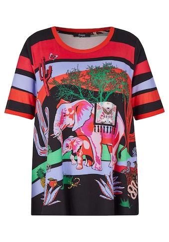FRAPP T-Shirt, mit buntem Motiv kaufen