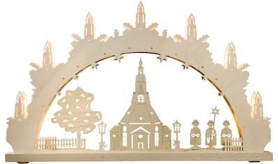 Weigla LED Schwibbogen »Seiffener Kirche«, 1 tlg., 7-flammig kaufen